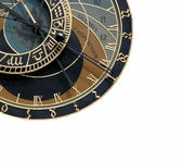 Astronomical clock in Czech republic — 图库照片