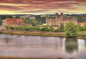 Leeds Castle at Sunrise — Stock Photo