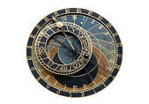 Astronomical clock in Prague — 图库照片