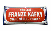 Square of Franz Kafka — Stock Photo