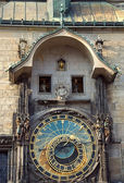 Astronomical clock of Prague — Stok fotoğraf