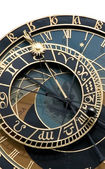 Ancient Astronomical clock in Prague — 图库照片