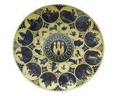 Wheel of zodiac in Prague — Stock Photo
