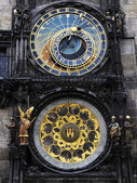 Astronomical clock of Prague — 图库照片