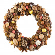 Royalty-Free Stock Photo: Dry fruit wreath