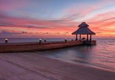 Sunset in the paradise — Photo