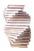 Spiral stack of books — Stock Photo