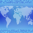 World map — Stock Photo #7480366