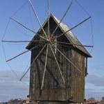 Wooden windmill — Stock Photo #7557416