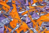 Background of violet and orange colours — Stock Photo