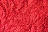 Texture of Red crumpled Paper — Stock Photo