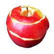 Foto Stock: Peeled apple