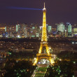Eiffel tower at night — Stock Photo #7321348