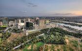 Vienna cityscape — Stock Photo