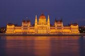 Budapest parliament — Stockfoto