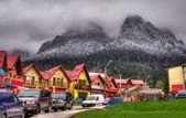 Mountain resort — Stock Photo