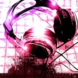 Artistic DJ Handset music Background — Stock Photo #6765577