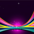 Spring Delicate Background with Rainbow Colours — Vector de stock #6765387