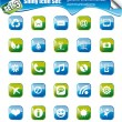 Shiny Icons - SET 3 - Stock Vector