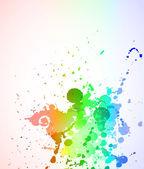 Tekuté barevné abstraktní pozadí pro obchodní letáky — Stock vektor