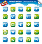 Shiny Icons -SET 2 — Stock Vector