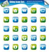 Shiny Icons - SET 3 — Stock Vector