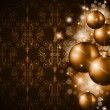 Merry Christmas Elegant Suggestive Background — Imagen vectorial