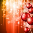 Merry Christmas Elegant Suggestive Background — Stockvektor