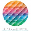 CMYK colours palette for Abstract Background - Imagen vectorial