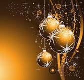 Bunte weihnachten hintergrund — Stockvektor