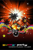 Fundo de evento música para flyers discoteque — Vetorial Stock