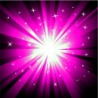 Purple magic lightsBackground  — Vektorgrafik