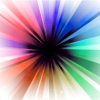 Explosion of Colorful Lights — Vector de stock