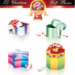 Christmas Box Luxury Collection - Set 1 — Stock Vector #6946907
