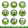 Funny Smiles Collection — Stock Vector #6947800