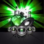 Disco Dancing Event Flyer — Stock Vector #6949765
