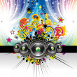Musical Event Background - Imagen vectorial