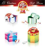 Christmas Box Luxury Collection - Set 1 — Stock Vector