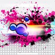 Colorful Abstract Background - Stok Vektör