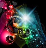 Disco Event Background — Stock Vector
