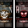 Royalty-Free Stock Imagen vectorial: Halloween Horror Party Flyer