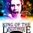 King of the discotheque flyer - Stock Vector