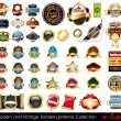 Royalty-Free Stock Imagen vectorial: Modern and Vintage Emblems Extreme Collection.