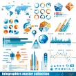 Premium infographics  master collection - Imagen vectorial
