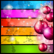 Merry Christmas Elegant Suggestive Background — Stock Vector #7371025