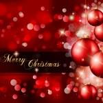 Elegant Classic Christmas Greetings — Stock Vector