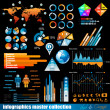 Premium infographics master collection — Stock Vector #7491597