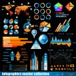 premie infographics master collectie — Stockvector  #7491597