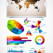 Premium infographics master collection: — Stock Vector #7597738