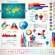 Premium infographics master collection: — Stock vektor
